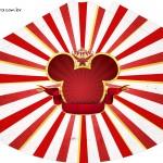 Chapeuzinho de festa Sacolinha Surpresa Mickey Circo - Parte 2