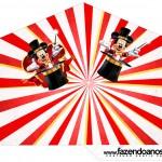 Cone Guloseimas 4 lados Mickey Circo