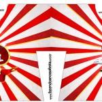 Convite Camisa Mickey Circo