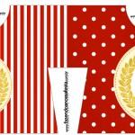 Convite Camisa Realeza Vermelho