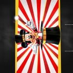 Convite Chalkboard Mickey Circo
