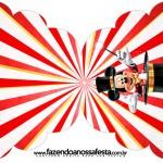 Convite Cupcake Mickey Circo
