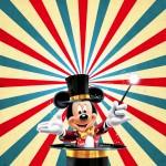 Convite Mickey Circo 2