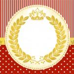 Convite Realeza Vermelho 3