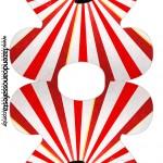 Convite Vestido Mickey Circo
