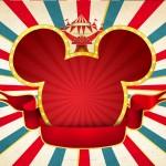 Convite ou Cartao Mickey Circo