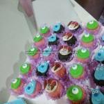 Cupcakes 2 Festa Monstros SA Maria Luisa