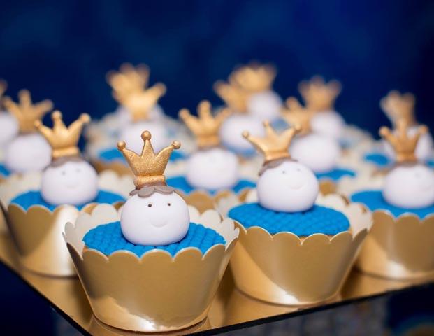 Cupcakes - Ideias para Festa Príncipe Arthur