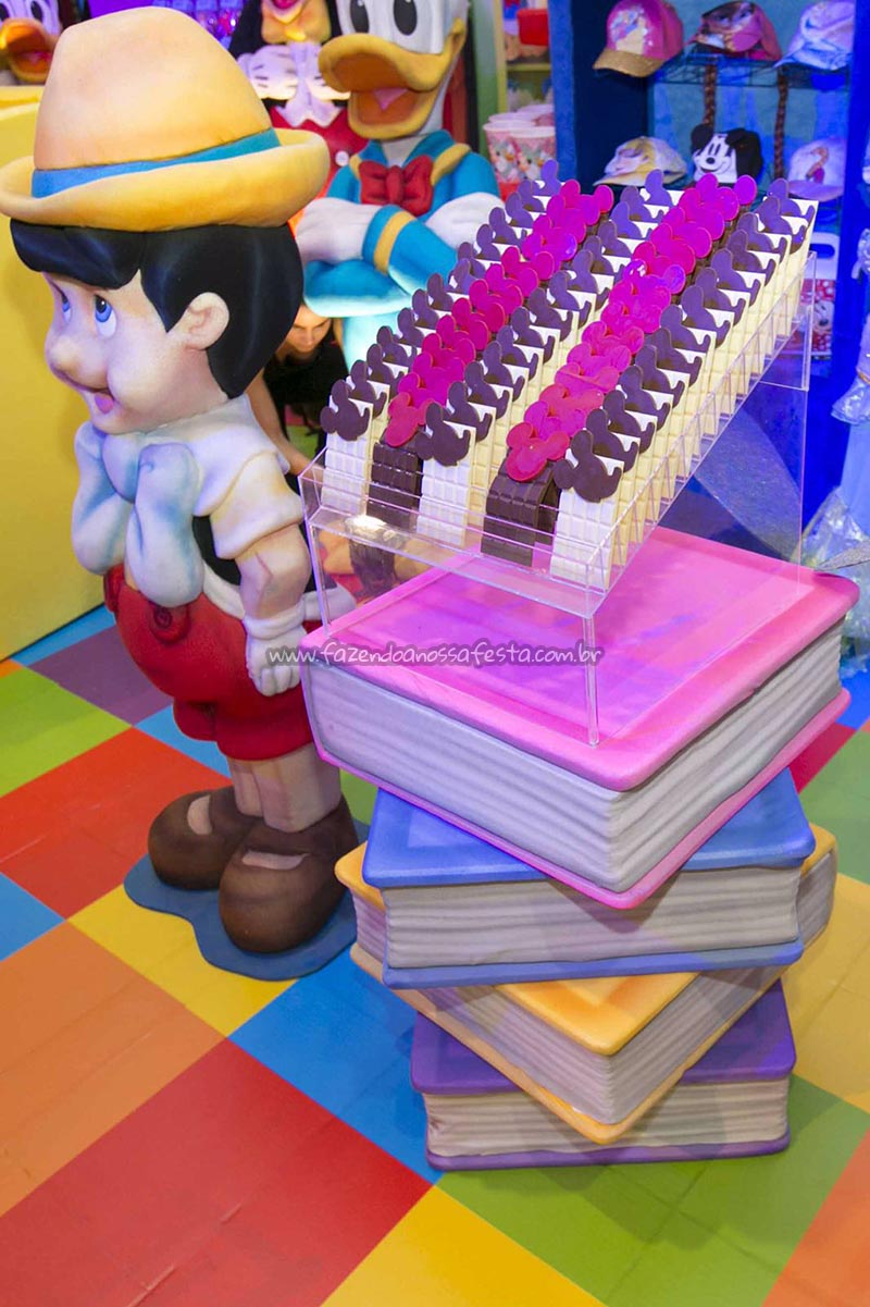 Decoracao 2 festa Disney Perylampo Festas