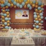 Decoração Mesa doces Festa Tema Príncipe do Adriel