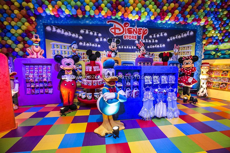 Decoracao para festa festa Disney Perylampo Festas