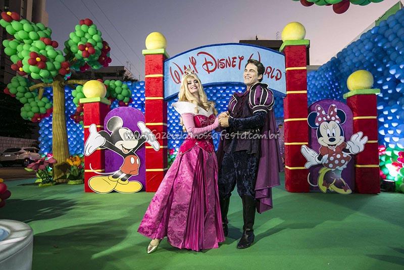 Entrada festa Disney Perylampo Festas