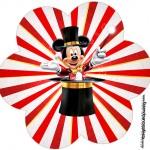 Flor Mickey Circo