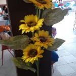 Flores Festa Frozen da Isabel