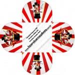 Forminhas Docinhos Redonda Mickey Circo