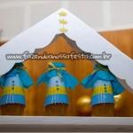 Garrafinha Festa Tema Príncipe do Adriel
