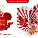 Kit Festa Mickey Circo – Grátis para Imprimir