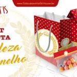 Kit Festa Realeza Vermelho – Grátis