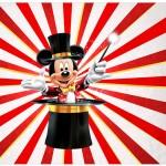 Lata de Leite Mickey Circo