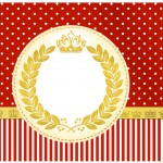 Lata de Leite Realeza Vermelho