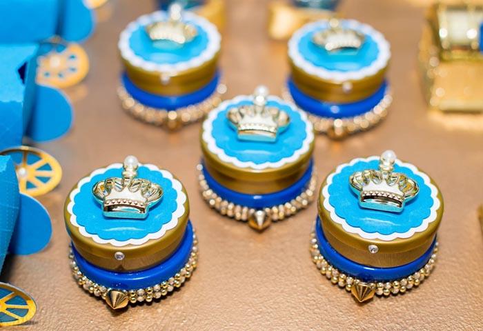 Latinhas Ideias Festa Príncipe Arthur