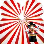 Marcador de Paginas Mickey Circo