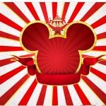 Marmita Pequena Mickey Circo