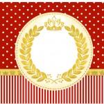 Marmita pequena Realeza Vermelho