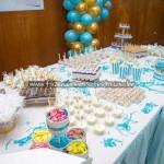 Mesa de doces Festa Príncipe do Adriel