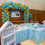 Mesa doces Festa Príncipe do Adriel