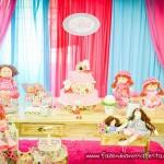 Mesa dos doces Festa Bonecas de Pano da Adrieli