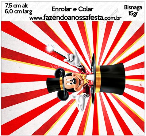 Bisnaga 15gr Kit Festa Mickey Circo