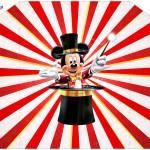 Envelope Convite Mickey Circo