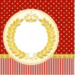 Mini Confeti Realeza Vermelho