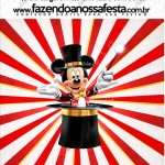 Mini Pastilha Docile Mickey Circo