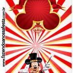 Molde Pirulito Kit Festa Mickey Circo