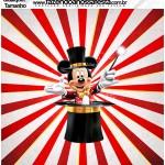 Molde Qualquer tamanho Mickey Circo
