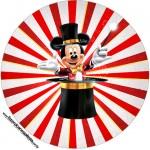 Molde Tubetes Toppers e Latinas Mickey Circo