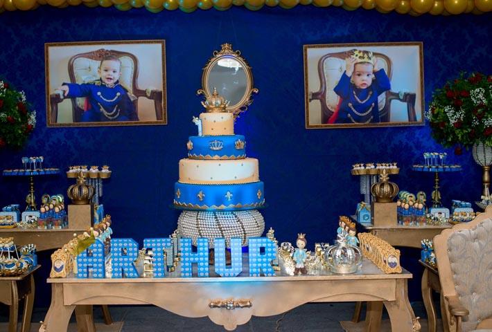 Painel da festa - Ideias Festa Príncipe Arthur