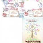 Passaporte Kit Festa Jardim das Borboletas