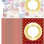 Passaporte Kit Festa Realeza Vermelho