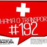 Plaquinhas para Formatura Chama o transporte