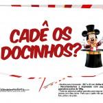 Plaquinhas Mickey Circo 2