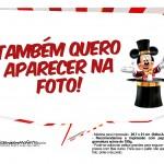 Plaquinhas Mickey Circo 3