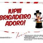 Plaquinhas Mickey Circo 4