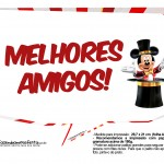 Plaquinhas Mickey Circo 5