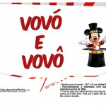 Plaquinhas divertidas Mickey Circo 10