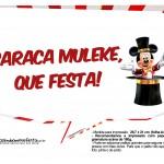 Plaquinhas divertidas Mickey Circo 18