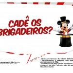 Plaquinhas divertidas Mickey Circo 19