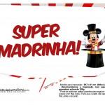 Plaquinhas divertidas Mickey Circo 2